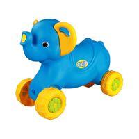 """Каталка детская """"Слонёнок"""" (голубой) M4937"""