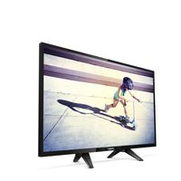 """22"""" LED TV Philips 22PFS4022/12, Black (1920x1080 FHD, PMR 100 Hz, DVB-T/T2/C/S2) (22"""", 60 cm, Black, Full HD, PMR 100Hz,2 HDMI,  USB  (foto, audio, video, USB recording),  DVB-T/T2/C/S2, OSD Language: ENG, RO, Speakers 5W, 2.65Kg, VESA 75x75)"""