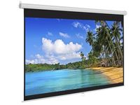 "Manual 222x125cm EliteScreens M100HTSR2-E20, 100"", Ratio 16:9, Black Border, White Case"