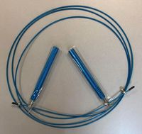 Скакалка с металлическим кабелем 2.85 м S-1021 Aluminium (4327)