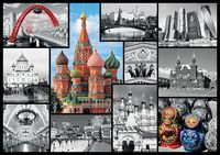 "10380 Trefl Puzzles - ""1000"" - Moscow - collage / Trefl"