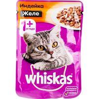 Whiskas желе (  индейка) 85гр