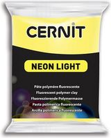Lut polimeric CERNIT NEON 56g,  galben neon