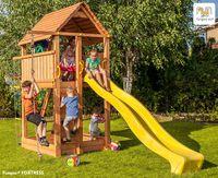 Деревянная детская площадка FORTRESS