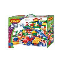 BAUER Auto Sets 215 parts, разноцветный