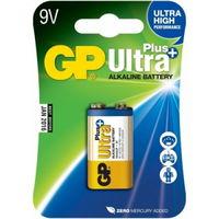 купить Батарейка GP 9V Ultra Plus 1604AUP   (1604)    (1шт.блистер) в Кишинёве