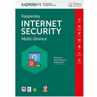 Kaspersky Internet Security, Multi-Device - 2 devices, 12 months, Box