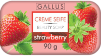 Крем - мыло Gallus 90g с ароматом клубники