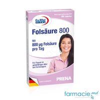 Acid Folic Folsaure 800 µg  comp. N60 EuRho Vital