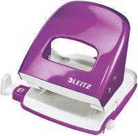 Leitz Дырокол LEITZ 5008, 30 листов, фиолетовый