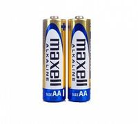 MAXELL Alcaline Battery  LR06/AA, 2pcs, Shrink pack