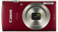 Canon IXUS 185 Red + Case Vanguard BENETO 6C