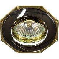 Feron Встраиваемый светильник 305T MR-11 черный металик