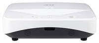 XGA Projector ACER UL6200 (MR.JQL11.005) Laser, 1024x768, 20000:1, 5700Lm, 20000hrs (Eco), 2xHDMI, VGA, Composite Video, LAN, S-Video, Audio Line-Out, 10W Mono Speaker, White, 2,4kg, Education Series projectors, Large images from either a distance