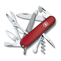 Нож Mountaineer 1.3743 The Original Swiss Army Knives, 91 мм, красный