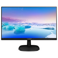 "Монитор 23.8"" Philips ""243V7QDSB"", Black"