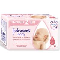 Johnson's Baby влажные салфетки 112 шт