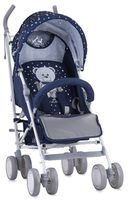 Bertoni (Lorelli) Ida Dark Blue Teddy Bear +footcover