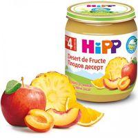 Hipp пюре фруктовый десерт, 4+мес. 125г