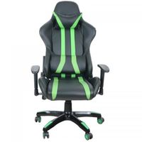 Gaming Chair Spacer SP-GC-GR168, Black-Green