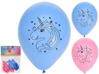 Набор шаров воздушных Unicorn 6шт, разноцветные