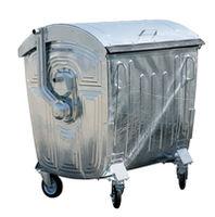 Оцинкованный контейнер для сбора отходов.1100 литров