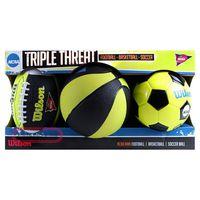 купить Набор сувениров Wilson NCAA TRIPLE THREAT WTX0754ID (554) в Кишинёве