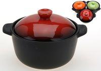 cumpără Cratita cu capac pentru cuptor 550ml, din ceramica în Chișinău