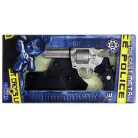 Револьвер полицейский (8 зарядный) в кобуре, код 44062
