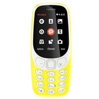 Nokia 3310 3G(2017) Single Sim, Yellow