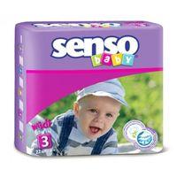 Senso Baby подгузники Midi 3, 4-9кг. 22шт
