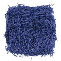 Бумажный наполнитель синий, 30 гр, 4 см