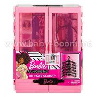 Barbie GBK11 Розовый шкаф Барби