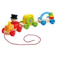 Hape Деревянная игрушка-каталка Паровозик