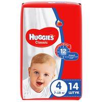 Подгузники Huggies Classic 4 (7-18 кг), 14 шт.