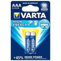 купить Батарейка Varta Micro High Energy AAA (2шт) в Кишинёве