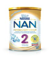 Nestle NAN® 2 Гипоаллергенный 400gr.