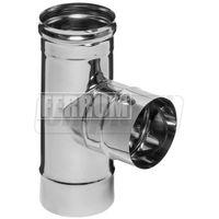 купить Тройник дымохода 90°(430/0.8 мм) dn 150 FERRUM  fm11.150.2F  ES в Кишинёве