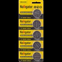 Батарейки серии NBT-CR (Литиевые) CR-2450