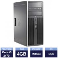 Настольный компьютер HP Compaq 8300 Elite Tower (Intel Core i5-3470 | 4GB | 250GB | Multi-Drive)