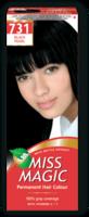 Vopsea p/u păr, SOLVEX Miss Magic, 90 ml., 731 - Negru perlat