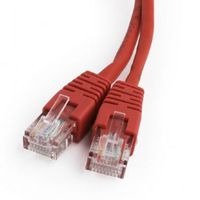 Cablexpert PP12-0.25M/R, Patch Cord Cat.5E 0.25m