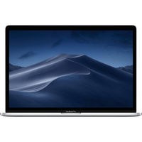 "Laptop Apple MacBook Pro, 15.4"" Silver, Retina 2880x1800, Intel Core i7-9750H 2.6GHz-4.5GHz, DDR4 16GB, SSD 256GB, AMD Radeon Pro 555X 4GB GDDR5, 802.11ac, 4xThunderbolt v3  4xUSB3.2-C Alternate Mode, Mac OS Mojave, Touch Bar, RU, 84Wh, 1.83Kg (MV922)"