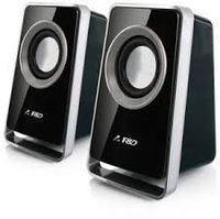 F&D V520 Black ,2.4w ,Usb power