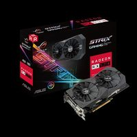 """VGA card PCI-E ASUS STRIX-RX570-4G-GAMING AMD Radeon RX 570, GDDR5 4GB, 1300MHz (OC Mode) 1310 MHz (Gaming Mode), Memory Clock 7000 MHz,  256-bit, 2xDVI-D, HDMI 2.0, DP, Power Connectors 1 x 8-pin"""