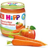 Hipp пюре яблокo и морковь, 125г