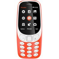 Nokia 3310 Dual sim, Red
