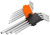 Ключи звездочки Torx T10-T50  9 шт Wokin