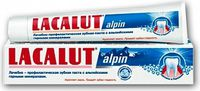 Lacalut зубная паста Alpin, 50 мл
