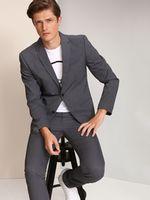 Пиджак TOP SECRET Тёмно-серый